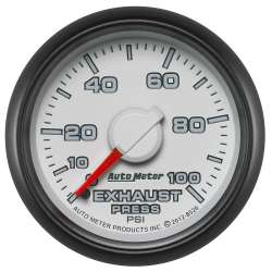 Dodge Factory Match 0-100PSI Mechanical Exhaust Pressure Gauge