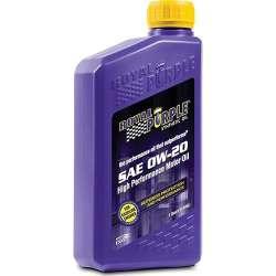 Royal Purple Synthetic 0W20 Multi-Grade Engine Oil - 1 Qt Bottle