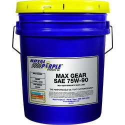 Royal Purple Max Gear Synthetic Gear Lube Oil - 5 Gallon Pail