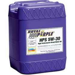 Royal Purple HPS Street Motor Engine Oil - 5 Gallon Pail