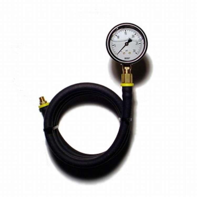 Liquid Filled Wika Fuel Pressure Test Gauge Kit