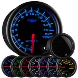 1500°F Pyrometer EGT 7 Color Tinted Lens Gauge