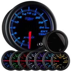 2400°F Pyrometer EGT 7 Color Tinted Lens Gauge