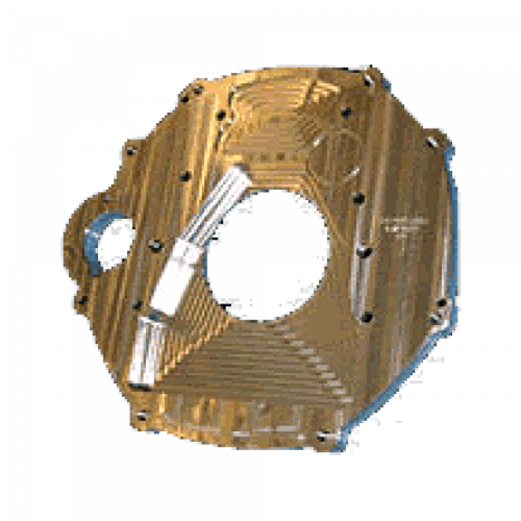 CR Cummins to ZF6 6.0L/6.4L Transmission Destroked Adapter Plate