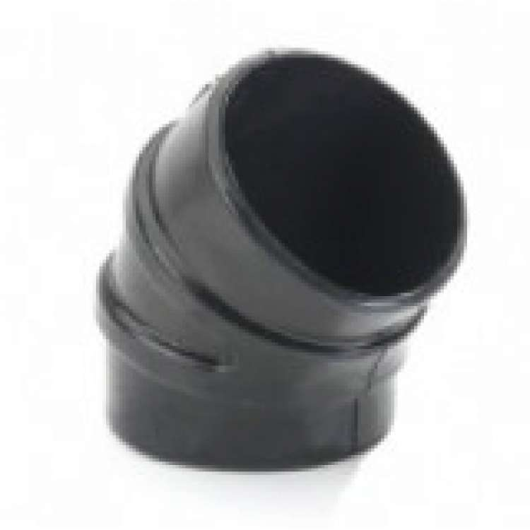 5 In 45 Degree EDPM Rubber Intake Boot