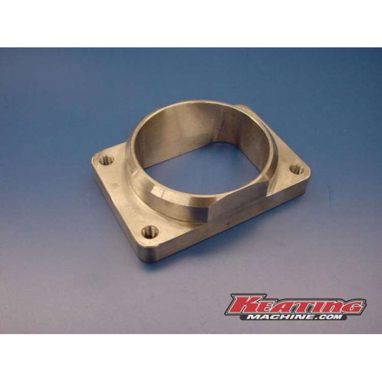 T6 3D Exhaust Inlet Flange, Rectangular To Round Pipe