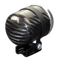 Autometer 2-1/16 In Carbon Fiber Gauge Cup
