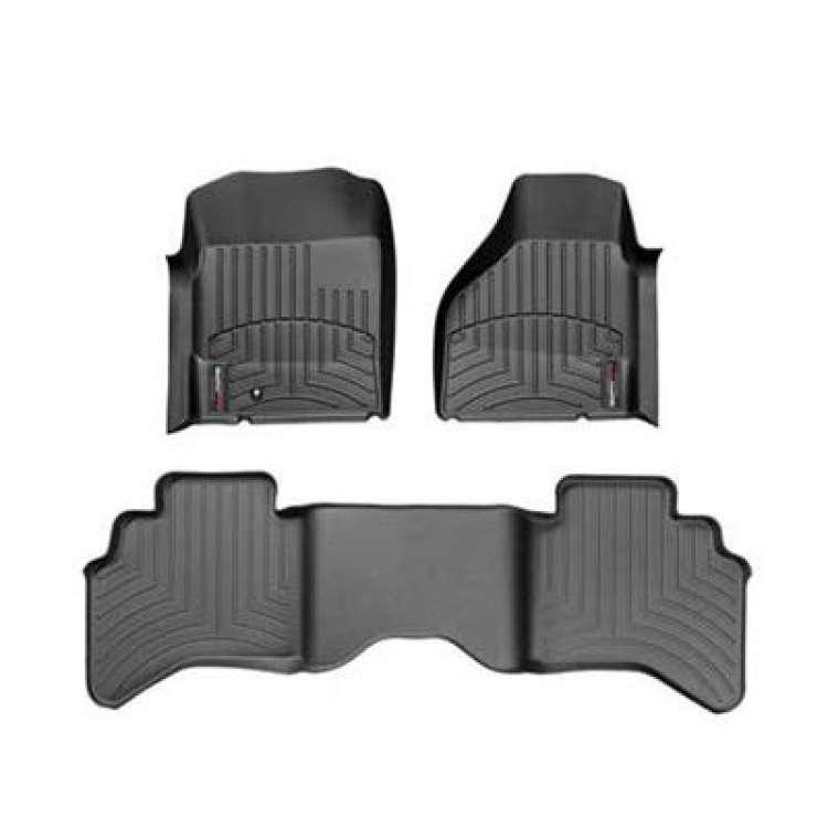 03-09 Dodge Ram 2500/3500 4WD QC WeatherTech DigitalFit FloorLiner Set