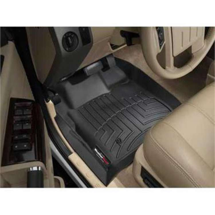 08-10 Ford Superduty Automatic WeatherTech DigitalFit Front FloorLiners