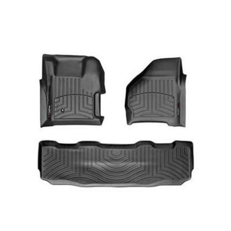 99-07 Ford Superduty CC WeatherTech DigitalFit FloorLiner Set