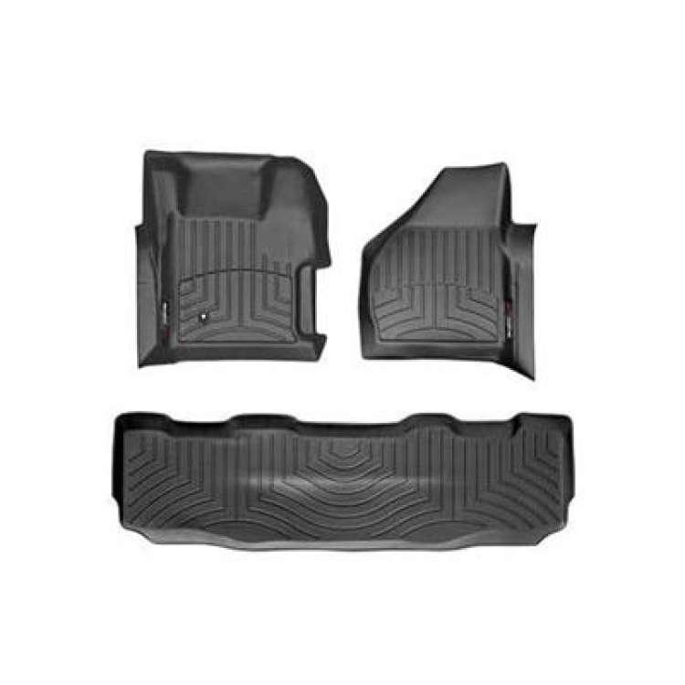 08-10 Ford Superduty CC WeatherTech DigitalFit FloorLiner Set