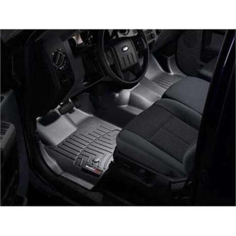 11-12 Ford Superduty CC/EC WeatherTech DigitalFit Front FloorLiners
