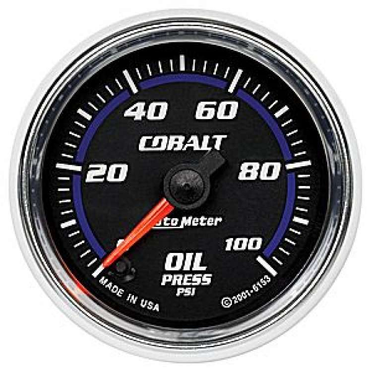 Cobalt 0-100 Oil Pressure Gauge Stepper Motor 6153