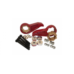11-14 GM 2500HD/3500HD 4x4 MAXXCam 3: 1 In-2.5 In Adjustable Leveling Kit