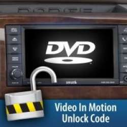 10-12 Dodge H&S Video in Motion Unlock Code