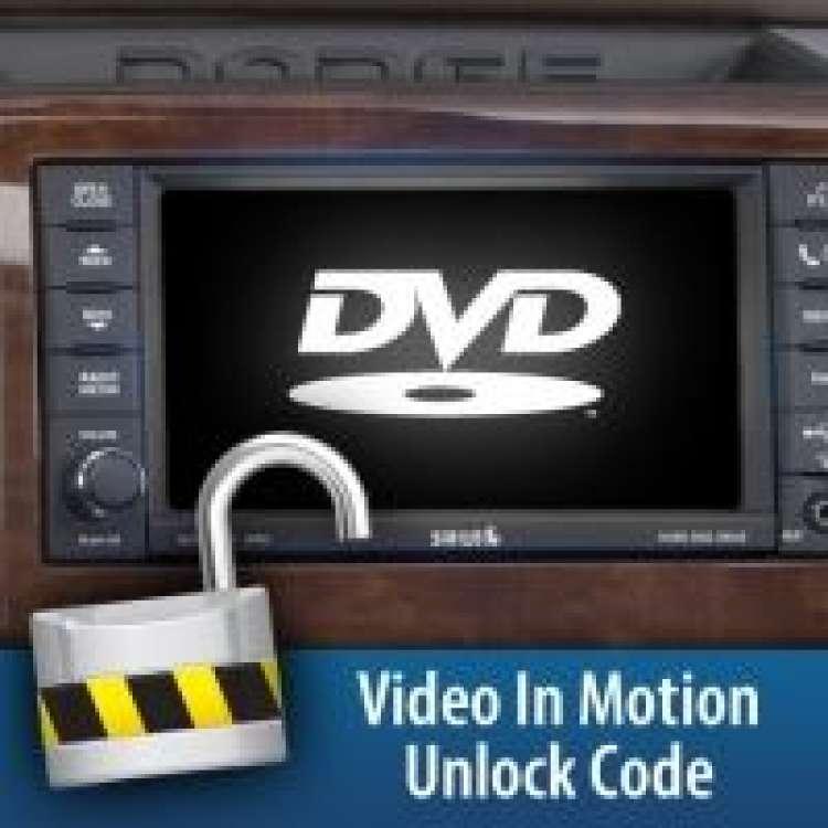 10-12 Dodge H&S Video in Motion Unlock Code
