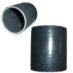 Black Silicone 3 In Straight Coupler