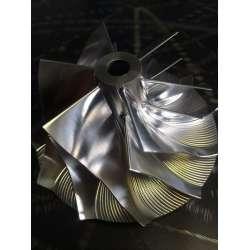 01-04 LB7 63.5MM Wetzel Billet Performance Compressor Wheel