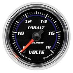 Cobalt VoltMeter Electric Gauge Air-Core 6192