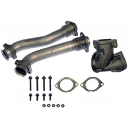 99.5-03 Ford 7.3L Powerstroke Rudys Bellowed Up Pipe Kit