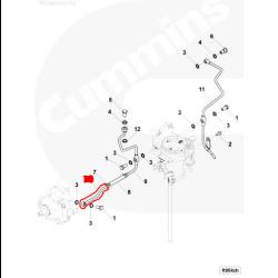 03-07 5.9L Cummins CP3 Fuel Return Line