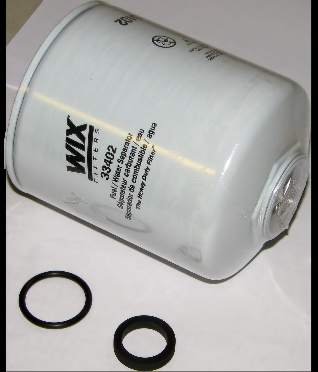 Fuel Water Separator Filter  Wix  33406MP