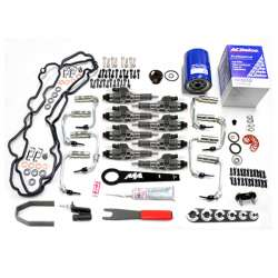 01-04 LB7 Duramax New MA Fuel Injectors w/Deluxe Install Kit