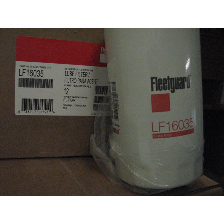 89+ Dodge 5.9L/6.7L Cummins Fleetguard LF16035 Stratapore Oil Filter 12 Pack Case