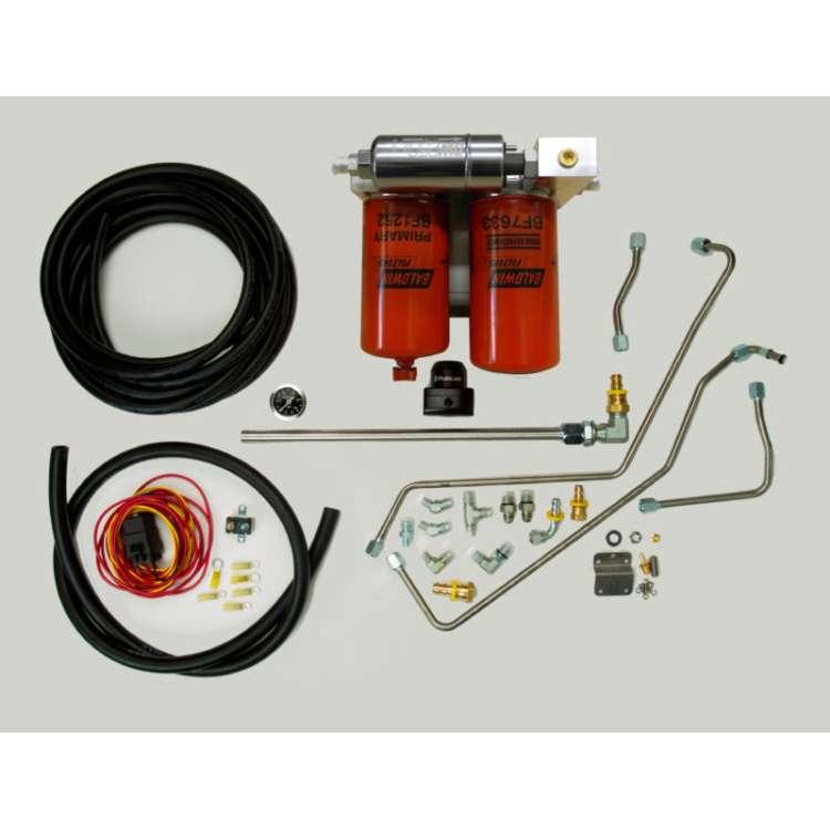 94-97 7.3L Ford Powerstroke IDP OBS Fuel System w/Regulated Return