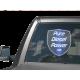 Pure Diesel Power Shield Vinyl Sticker