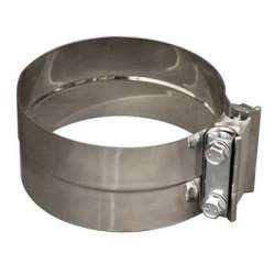 Flo-Pro 5 In Lap Joint Stainless Band Clamp LJ500SS