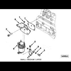 98.5-02 Dodge Cummins Lift Pump Inlet Fuel Line