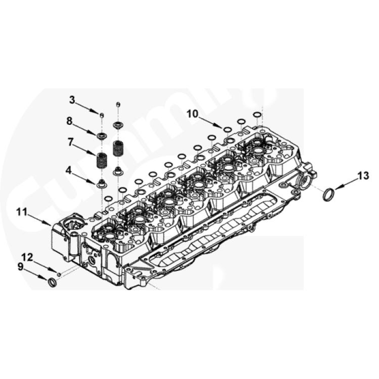 98.5-18 Dodge 5.9L/6.7L Cummins Exhaust/Intake Valve Seal