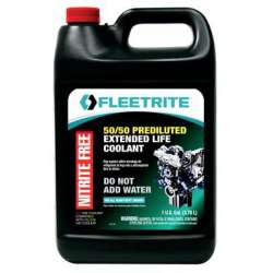 Fleetrite Extended Life Coolant/Anti-Freeze-Prediluted FLTUELC5050G - 1 Gallon