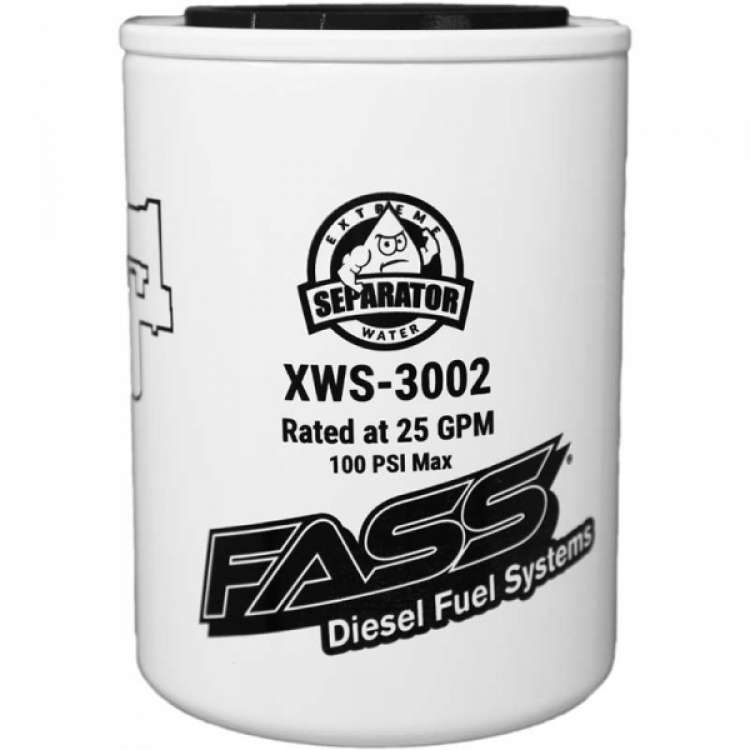 Fass Extreme Series Fuel/Water Seperator 3 Micron Filter