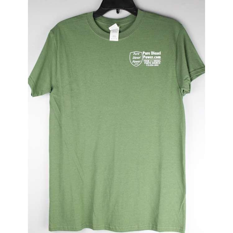 Forest Green Pure Diesel Power T-Shirt