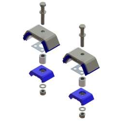 Atro Motor Mount Kit w/Hardware, Rear KT59-62001-HW
