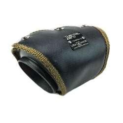 Universal 45 Degree Elbow Pipe Blanket for 4″ Diameter – Black