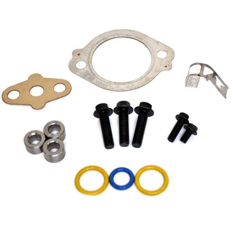 03-07 6.0L Ford Powerstroke XDP Turbo Bolt & O-Ring Kit With Up-Pipe Gasket