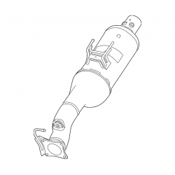 13-16 6.7L Cummins Catalytic Converter - SCR With Ammonia Trap