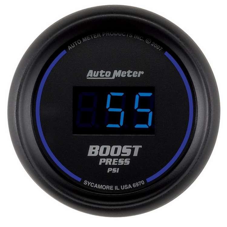 Cobalt Digital 5-60PSI Electric Boost Gauge 6970