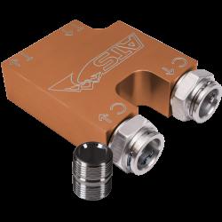 13-18 ATS 68RFE / AISIN Thermal Bypass Valve With Aluminum Filter coupler
