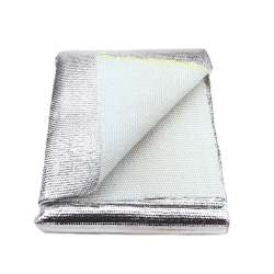 Thermal Zero Thick High Temperature Aluminized Heat Blanket Material Shielding Mat (36″ x 36″ mat)