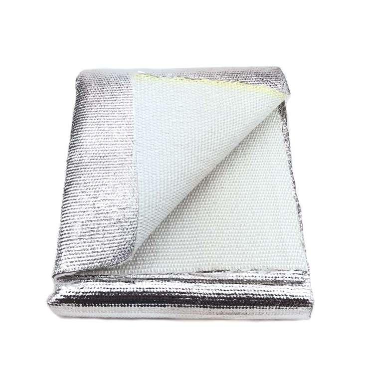 Thermal Zero Thick High Temperature Aluminized Heat Blanket Material Shielding Mat (36″ x 36″ mat)