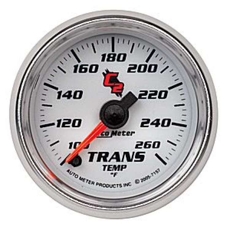 C2 Transmission Temperature Gauge 100-260º Stepper Motor 7157