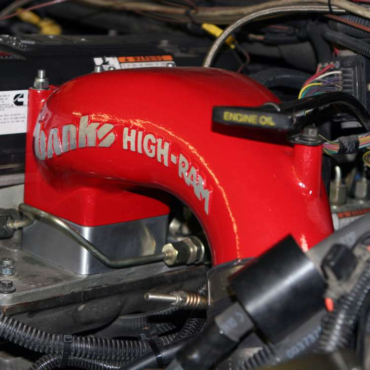 98.5-07 Dodge 5.9L Cummins Banks Billet Intake Heater Delete