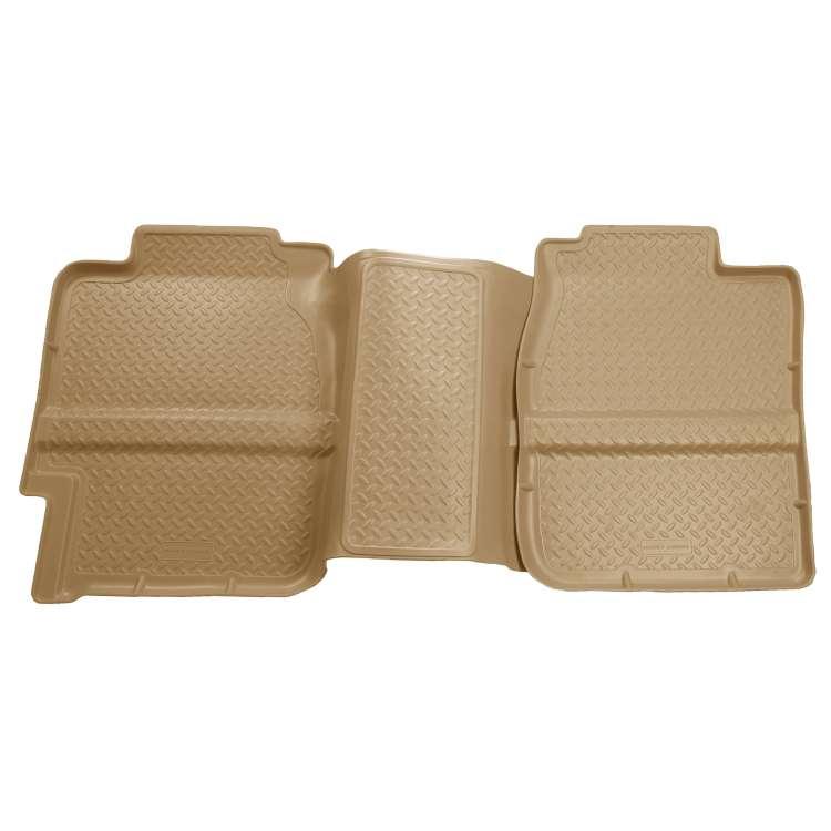 01-07 GM Silverado/Sierra Ext.Cab Husky Liner Rear Seat Floor Liners