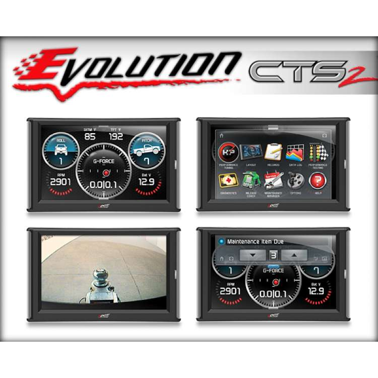 01-15 GM 6.6L Duramax Edge Evolution CTS2 - Color Touch Screen