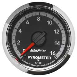 4th Gen Dodge Factory Match Pyrometer 0-1600 Degrees 8546