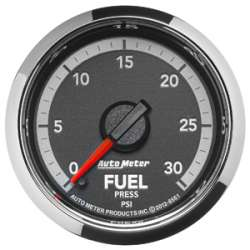 4th Gen Dodge Factory Match 0-30PSI Fuel Pressure Gauge 8561